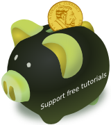Support free tutorials