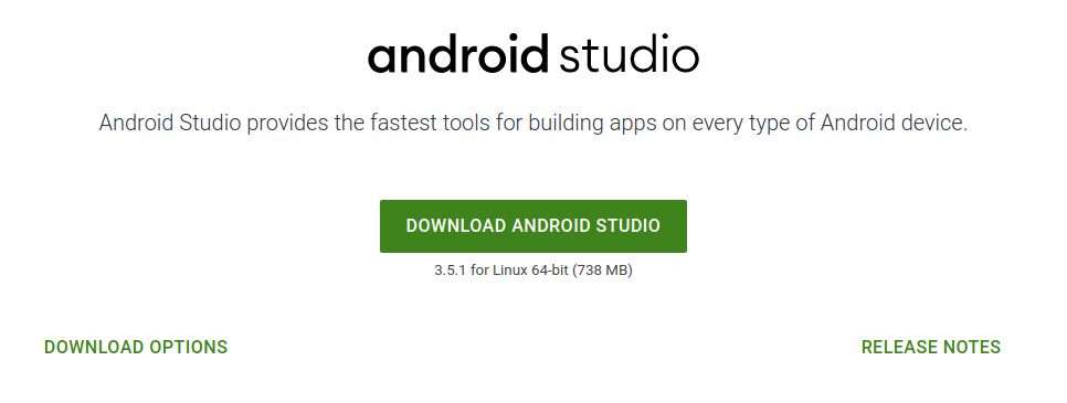 Getting started with Android development - Tutorial