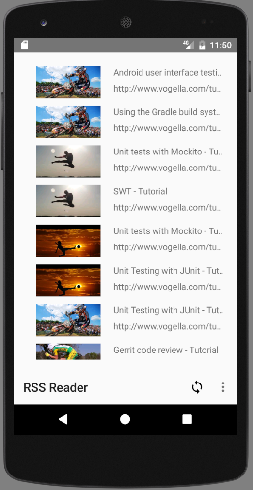 Downloading and handling images in Android applications with