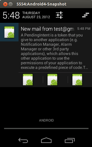 Android Notifications - Tutorial