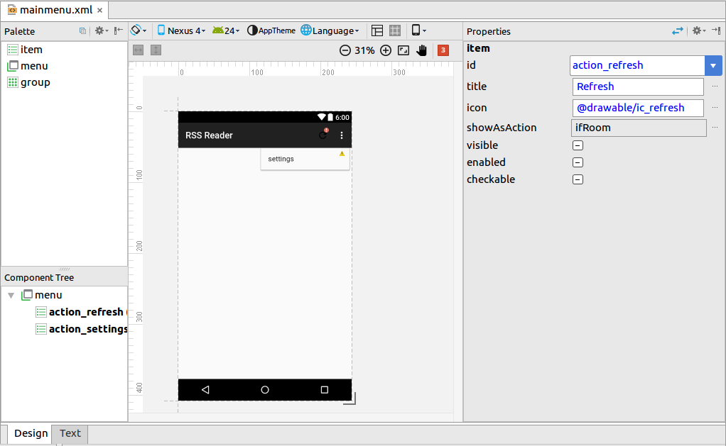 Using Android Studio - Tutorial