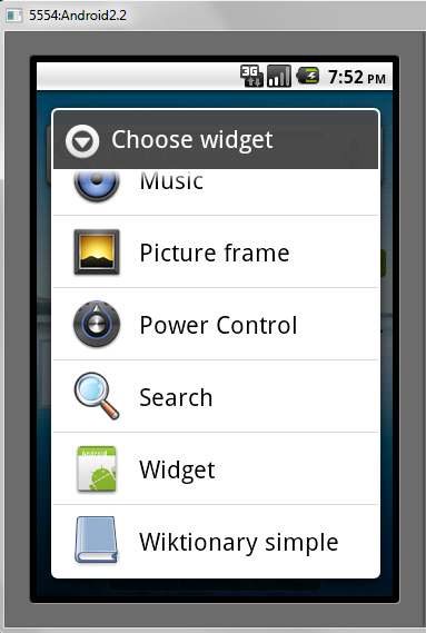 Android (Home screen) Widgets - Tutorial