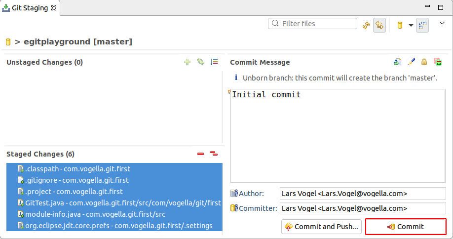 Eclipse Git Tutorial