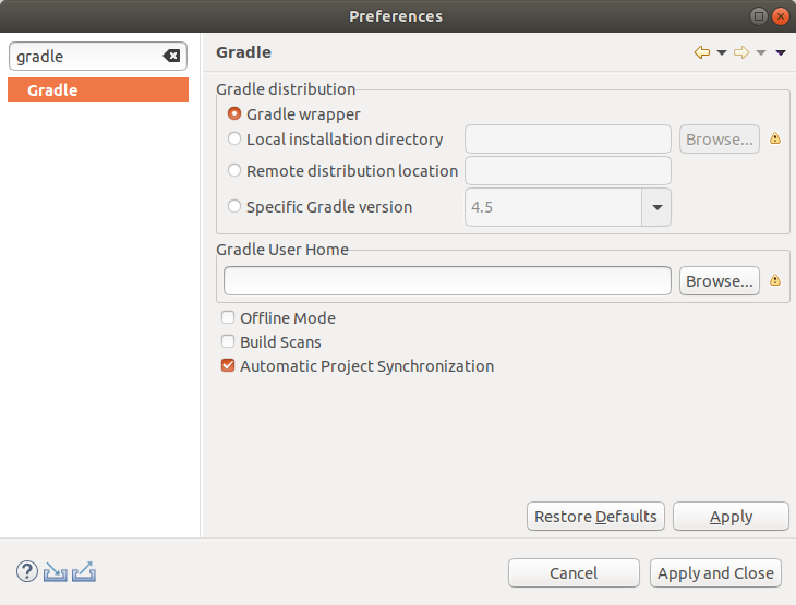 Using the Gradle build system in the Eclipse IDE - Tutorial