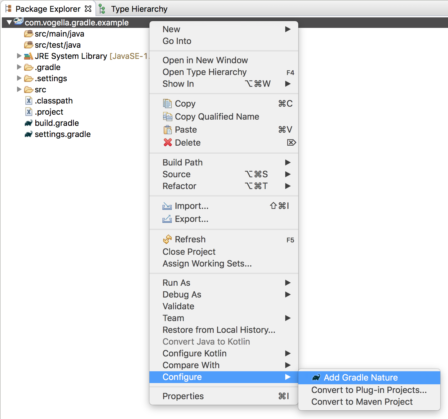 Using the gradle build system in the eclipse ide tutorial addgradlenature10 baditri Choice Image