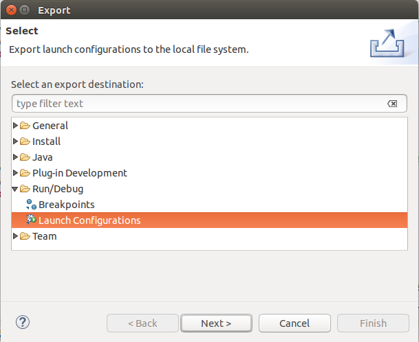Defining custom launcher for the Eclipse IDE - Tutorial
