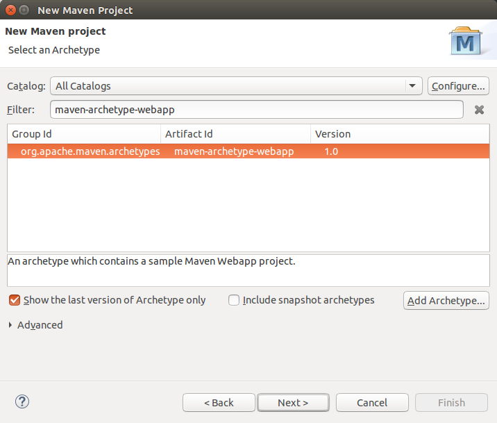 Using Maven within the Eclipse IDE - Tutorial