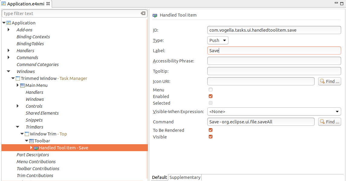 Eclipse RCP (Rich Client Platform) - Tutorial