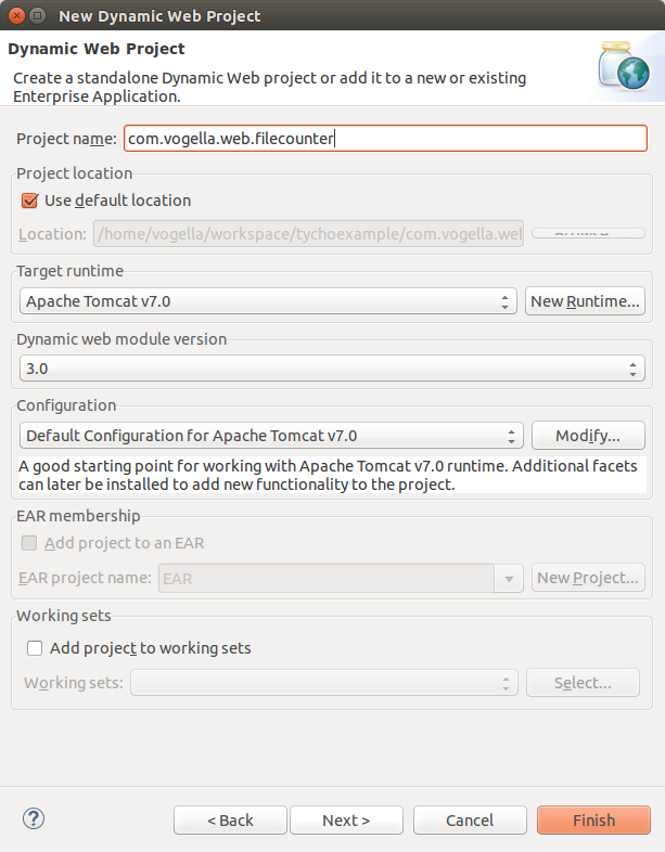 Java web development with Eclipse WTP - Tutorial