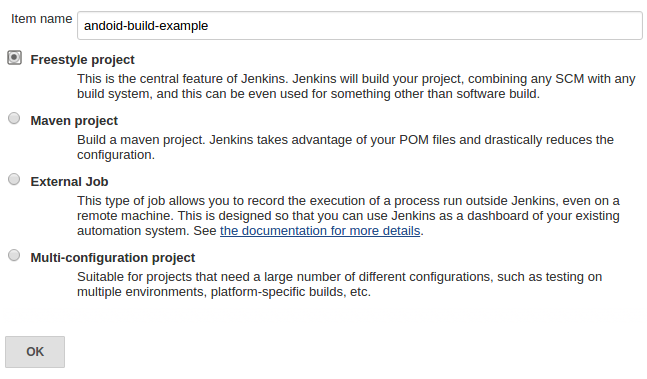 Using the Jenkins build server to build Android applications - Tutorial